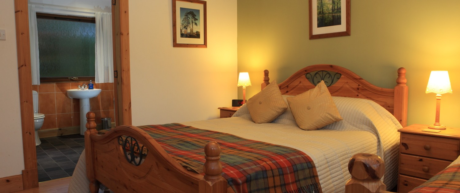 Cosy and spacious bedroom at our Fort William cottage