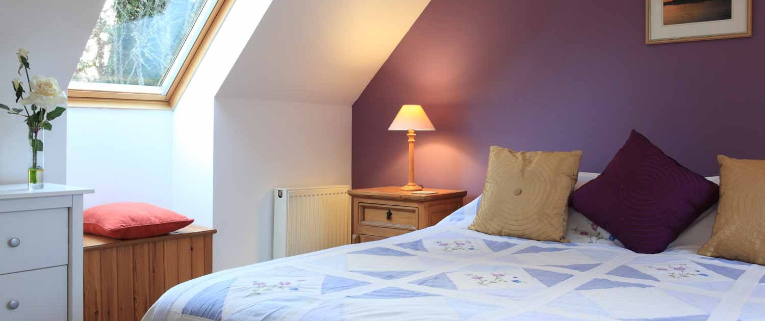 upper floor double or twin bedded room